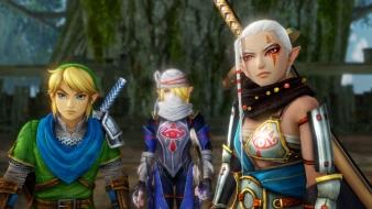 Link, Sheik, and Impa