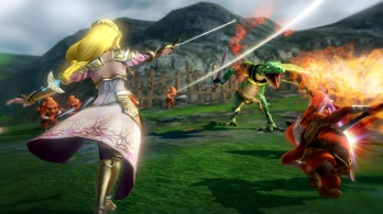 Zelda fighting