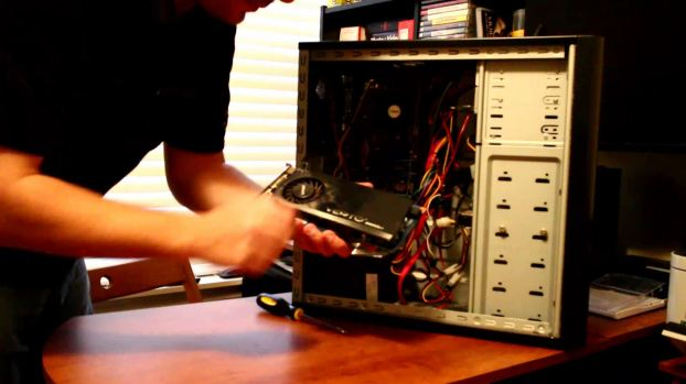 Removing the 9600GT