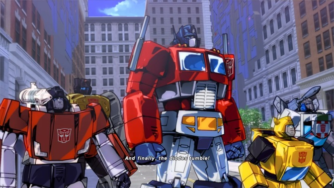 Let's Look At Transformers Devastation