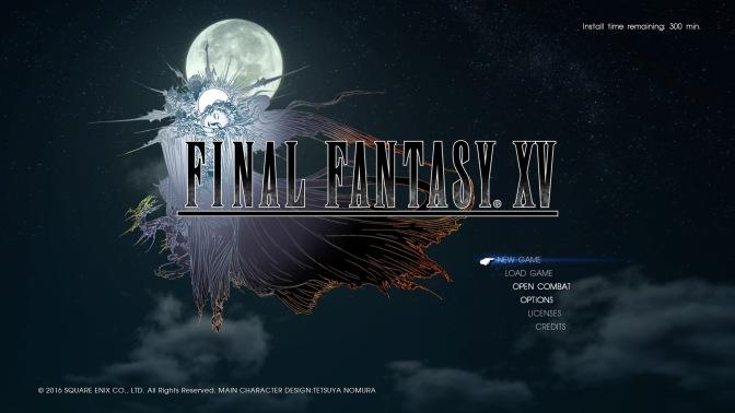 Final Fantasy XV – First Impressions